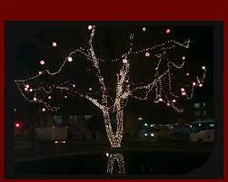 Ağaç ışıklandırma ıncele ağaç abajuru ıncele